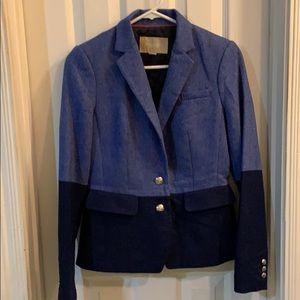 Lined wool blazer